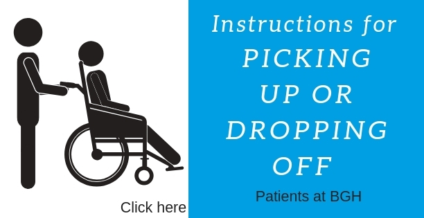 pickup and droppoff instructions